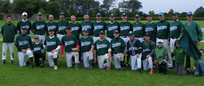 Dublin Spartans Baseball Ireland A League Champions 2010