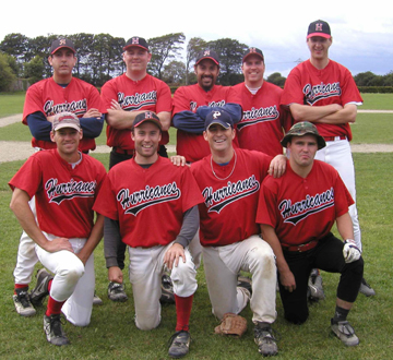 Hurricanes Irish Baseball League 2003 Champions