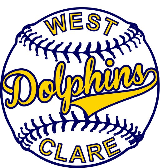 West Clare Dolphins Logo 2012